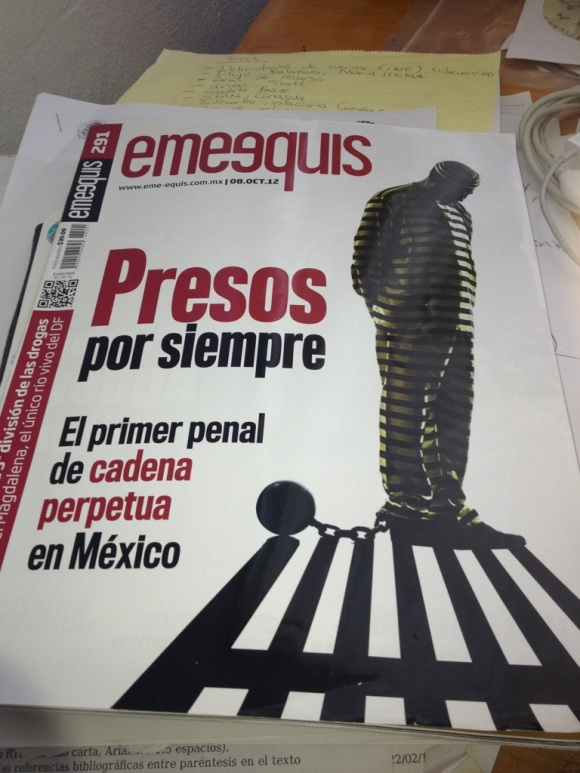 Revista Emeequis oct 2012