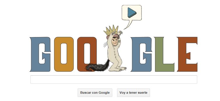 Google conmemora el 85 Aniversario de Maurice Sendak